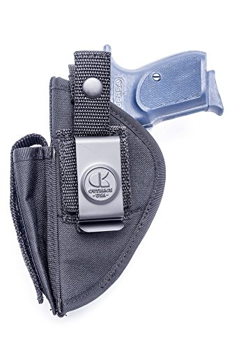 OutBags USA NSC22 (Right) Nylon OWB Outside Pants Carry Holster w/Mag Pouch. Family Owned & Operated. Made in USA