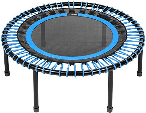bellicon Classic Rebounder, Screw-in Legs, Blue, ø 100 cm, Medium Bungees (60-90kg), including Starter Pack, Made in Germany, and Design