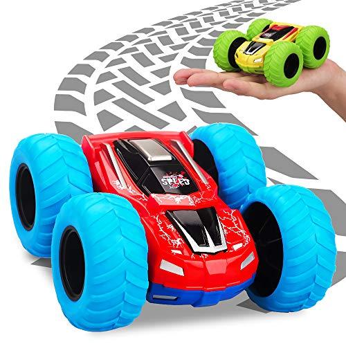 Spielzeug für Junge 2 3 4 5 Jahre, Kinderpielzeug ab 2-6 Jahr Jungen Mädchen Geschenk Auto Spielzeug Spiele für Kinder Baby 3-8 Jährige Trägheitsfahrzeug Geburtstagsgeschenke für Junge 2 3 4 Jahre