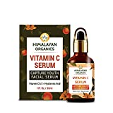 Himalayan Organics Vitamin C Serum for face Capture Youth with Hyaluronic Acid and Vitamin E - 30ml...