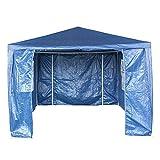 <span class='highlight'>furniture</span>-<span class='highlight'>uk</span>-<span class='highlight'>shop</span> PE Garden Gazebo Marquee Canopy Party Tent 3 x 4m 120g Waterproof Gazebo (3x4m, Blue)