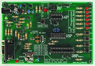 VELLEMAN K8048RS PIC PROGRAMMER & EXPERIMENT BOARD KIT