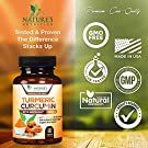 Turmeric Curcumin Highest Potency 95% Curcuminoids 1950mg with BioPerine Black Pepper for Ultra High Absorption, Made in USA, Best Vegan Joint Support by Natures Nutrition - 60 Capsules #4