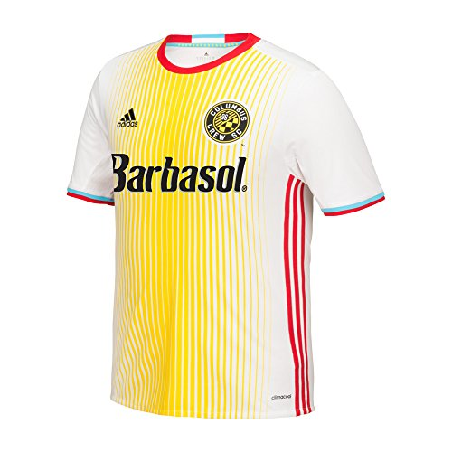 MLS Columbus Crew SC Boys Replica Short Sleeve Team Jersey, White, Small