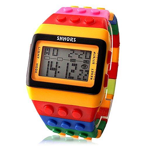 Shhors-Reloj mitb115cf con pulsera LED