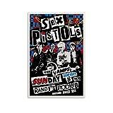 BGRGU Poster Sex Pistols Vintage Musik Poster Rock Poster