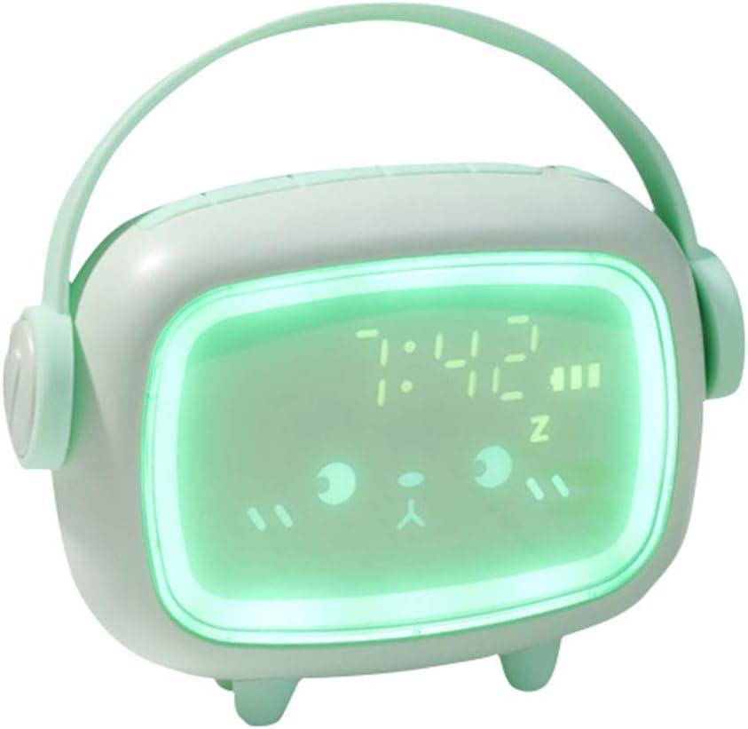 NOWON R/éveil num/érique Mignon pour Enfants avec Table de veilleuse r/éveil d/écor /à la Maison