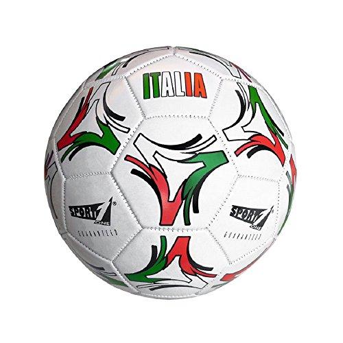Mandelli Italia Sintetico Pallone Cuoio Calcio Gioco Sportivo Sport 243, Multicolore, 8003029410951