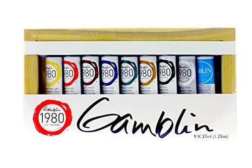 GAMBLIN 1980 Oil Color Exclusive Set
