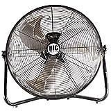 Big Air   Industrial Grade Air Circulator for Garage, Shop, Home, Barn Use (20' Floor Fan)