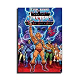 FINDEMO He-Man and The Masters of The Universe Painting Canvas Art Poster and Wall Art Picture Print Modern Family Bedroom Decor Posters /0688 (Unframed,24x36 inch)