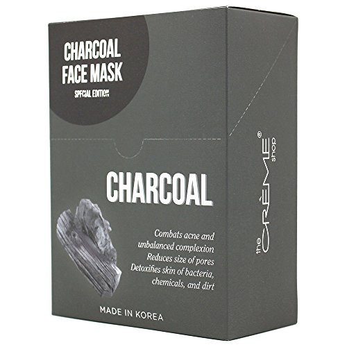 Creme Charcoal Face Mask Collection special edition 12 Pcs