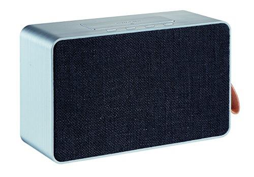 Grundig GSB 750 25 W Silber - Tragbare Lautsprecher (25 W, Verkabelt & Kabellos, A2DP, 10 m, Silber, Rechteck)