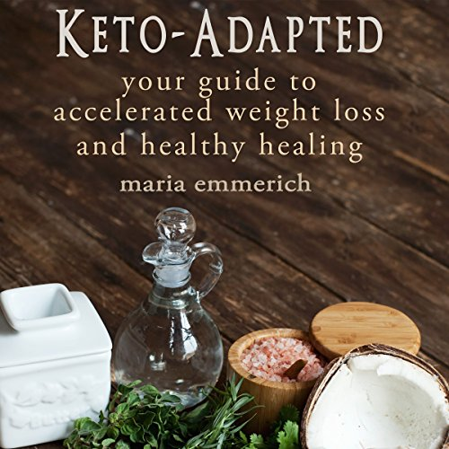 Keto-Adapted audiobook cover art