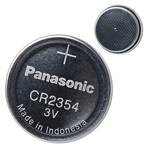 Panasonic CR2354 3 V Lithium Batterie 2 Packungen x (5 Stück) = 10 Einwegbatterien