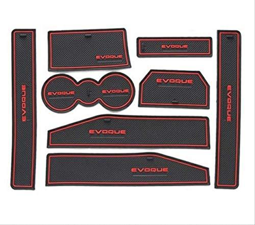 XGFCNB, per Land Rover Evoque Porta del Veicolo Slot Pad Guarnizione Tappetino Antiscivolo