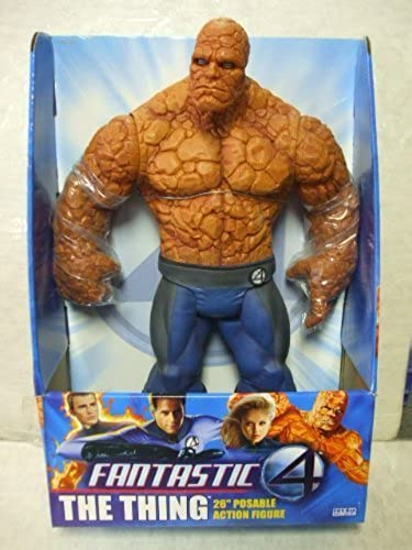 Fantastic Four - THE THING - 26 inch Posable Action Figure by Toy Biz