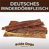 PrideDogs Rinderkopfhaut 20 cm 500g der Premium Kausnack für Ihren Hund | 100% Rind aus Deutscher Herstellung | im geruchsneutralen Beutel | Kauartikel
