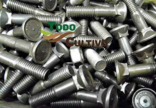 Tornillo de Arado 11X60 DIN 608. Caja 50 Uds. Tornilleria de máxima calidad marca San Lorenzo, con cabeza avellanada especial rejas de arado.