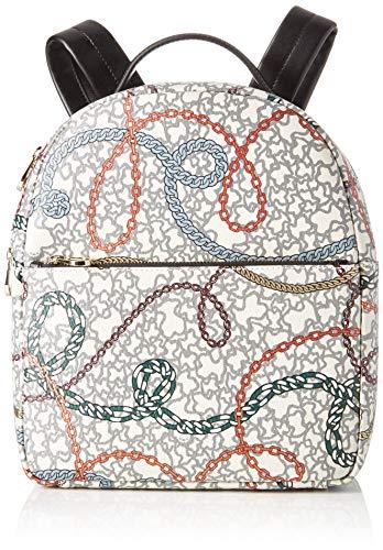 Tous Km, Bolso mochila para Mujer, Multicolor (Multicolor 995810382), 25x30x10.5 cm (W x H x L)