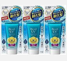Biore UV Aqua Rich Watery Essence 2017 SPF50+/PA++++ (Pack of 3)