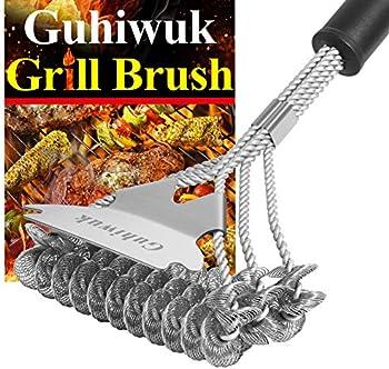 Guhiwuk Bristle Free Grill Brush and Scraper