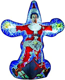 Gemmy 6' Photorealistic Projection Airblown Kaleidoscope Chevy Chase Christmas Inflatable