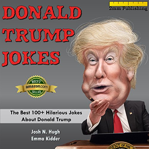 Donald Trump Jokes audiobook cover art