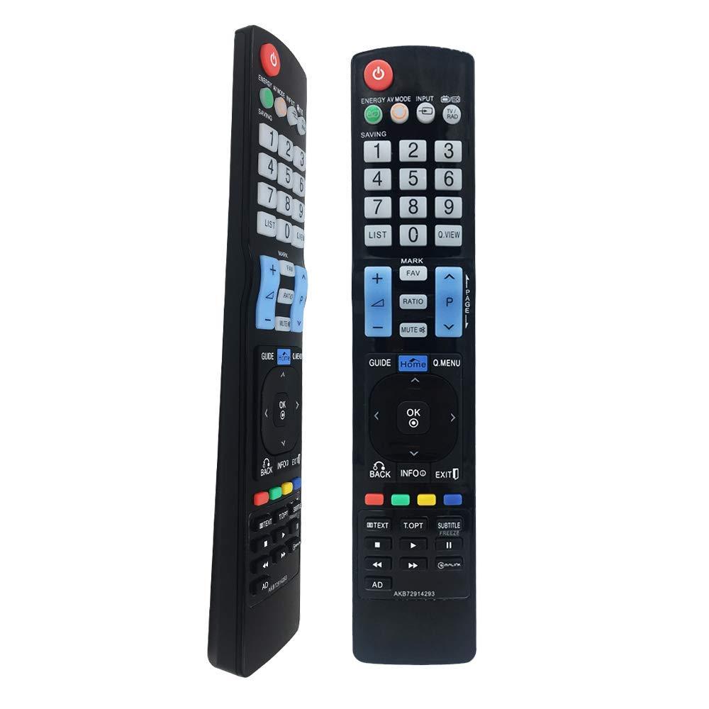 FOXRMT Nueva sustitución LG AKB72914293 Mando a Distancia para LCD LED Smart TV, LG Mando a Distancia para TV 42LW450U 42LW451C 42LW540U 42PT250A-ZA 42PT250K-ZA: Amazon.es: Electrónica