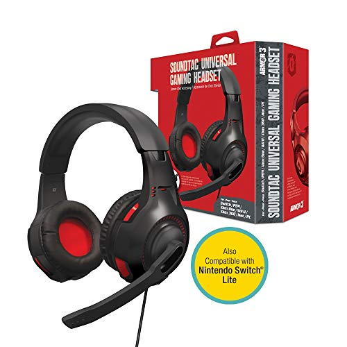 """Armor3 """"SoundTac"""" Universal Gaming Headset for Nintendo Switch/ PS4/ Xbox One/ Wii U/ Xbox 360/ PC/ Mac"""