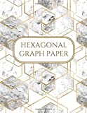 Hexagonal Graph Paper: Hex Grid Composition Notebook with ¼ inch Side Length, 150 pages