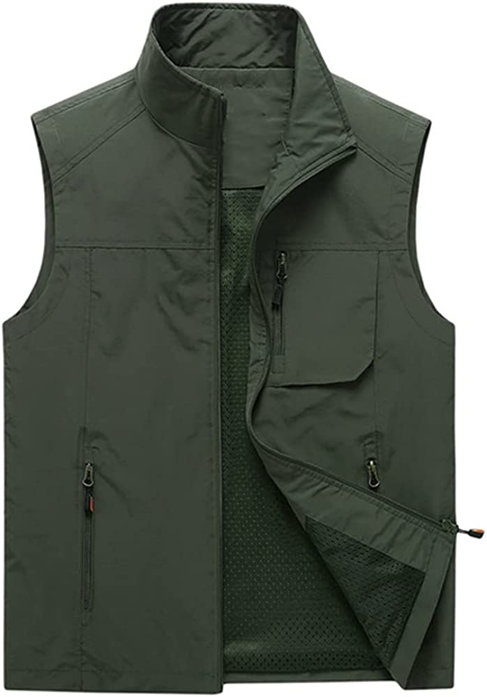 Men's Vests Autumn Mens Sleeveless Vest Spring Summer Casual Travels Vest