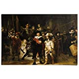 REINDERS Rembrandt Die Nachtwache Poster 91.5 x 61 cm -
