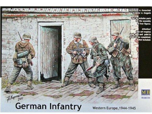 Masterbox 3584 German Infantry 1944-45 Western Europe 1:35 Plastic Kit