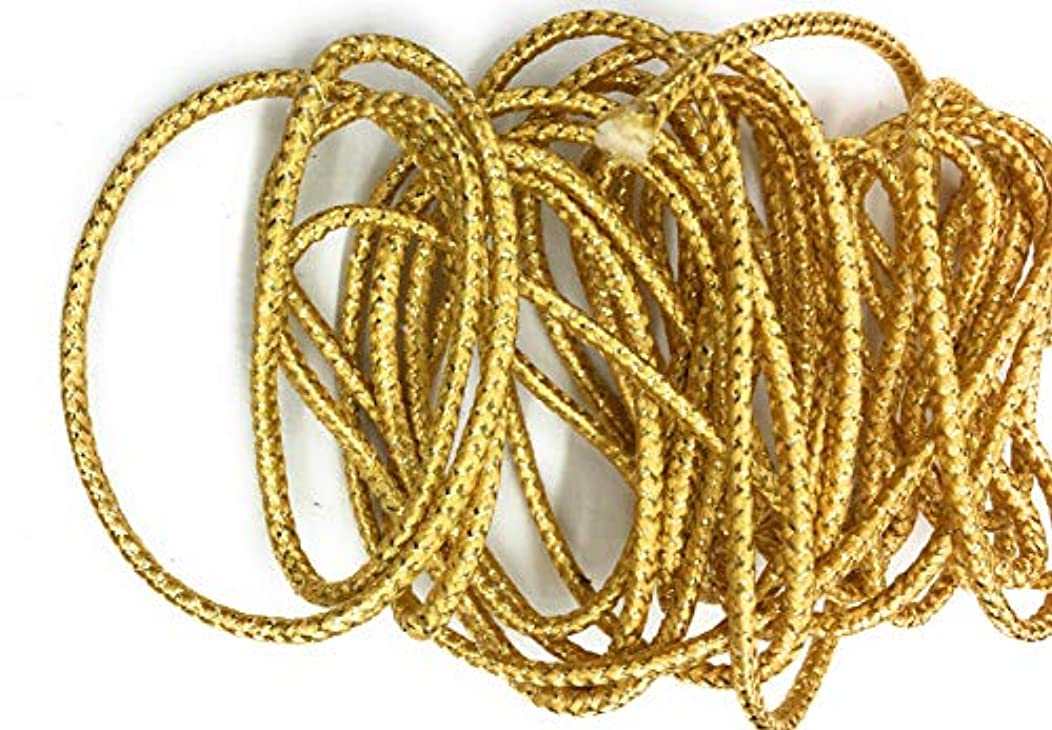 Weave Gold Cord Trims 3/16