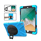 6th Generation iPad Case for Kids | TSQ Full Body Rugged Protective PC