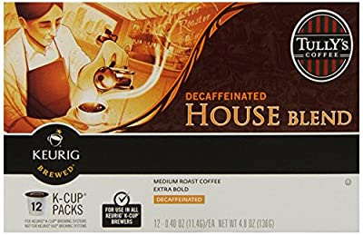 Tully's Coffee Breakfast Blend, Keurig Single Serve K-Cup Pods, Light Roast Coffee