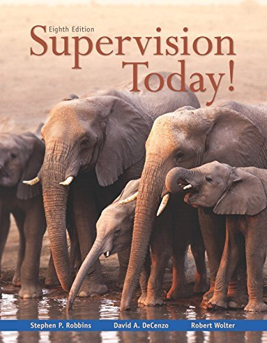 [Stephen P. Robbins] Supervision Today! (8th Edition) - Paperback