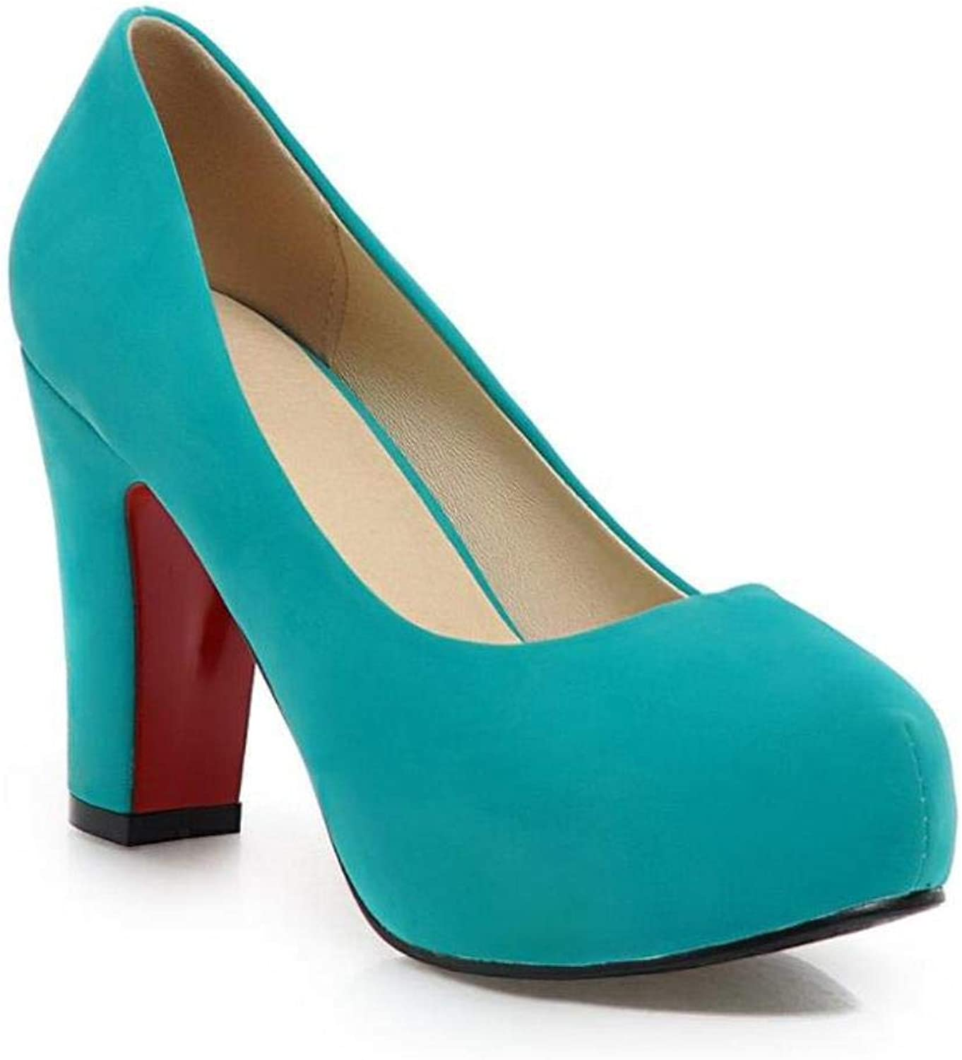 Women Office Party Shallow Solid High Heel Big Size Pumps