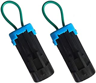 1 Pair Seat Belt Bypass for Polaris Ranger RZR 900 1000,Harness Override Clip for Can Am Maverick Commander Defender Accessories-BUNKER INDUST