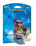 PLAYMOBIL Pirata Playset de Figuras de Juguete, Multicolor, 12 x 3,7 x 16 cm (9075)