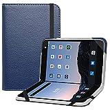 Bige for Microsoft Surface Duo Case,PU Leather Folio 2-Folding Stand Cover Case for Microsoft Surface Duo 8.1' 2020 (ATT,Verizon & Tmobile),Dark Blue