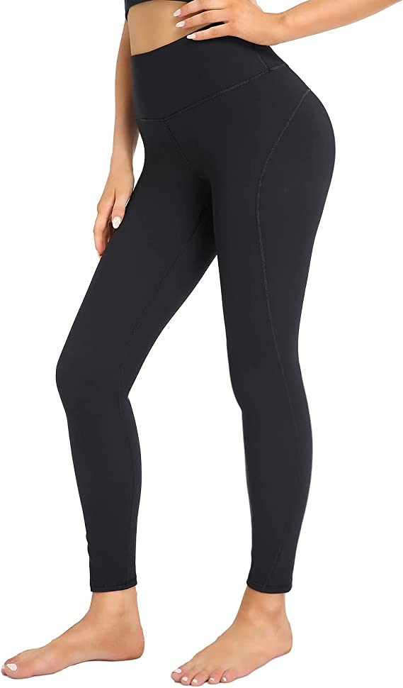 YADIFEN Women's High Waist Yoga Pants Workout Leggings Tummy Control Compression Pants with Inner Pocket