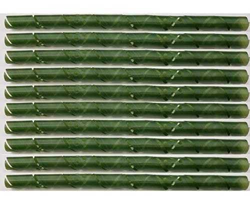 EXCOLO 10 Baumschutz Spiralen Stamm-Schutz Bäume Verbiss Fraßschäden Baum Schutz Baumschutzspirale 90 cm lang