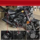 ADFW Accesorios Moto Protezione del motor dello statore Crash paratelaio forcella anteriore coperchio posterior Ammortizzatori Cap Guardia Fit Para Honda Rebel CMX 500 300 17 18 19