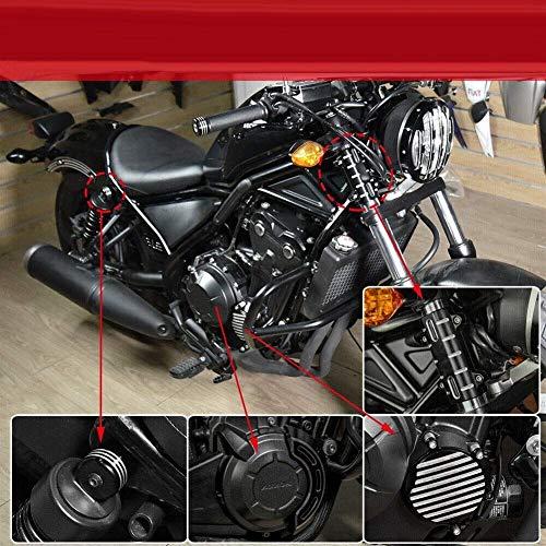 ADFW Accesorios Moto Protezione del motor dello statore