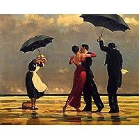 クロスステッチ 大人のためのクロスステッチキット 海で踊る人 40x50cm 11CT番号別刺繍キット手作りキットパンチ針刺繍DIY初心者向け手作りスターターキット