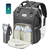 Cosyland Diaper Bag Backpack for Mom Multi-Function Travel Backpack Nappy Bags Large Capacity