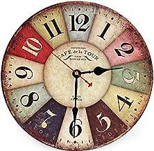 ساعة خشب رقمي