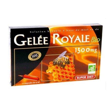 SuperDiet - Gelée Royale Bio 10 ampollas de 15 ml de Super Diet